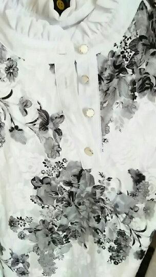 南极人 蕾丝打底衫女2018秋冬装新款长袖修身保暖加绒加厚上衣百搭立领蕾丝衫 8831 黑色加绒 XXL 晒单图