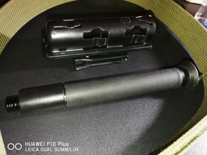 野人谷(YERENGU) 甩棍轻机机械棍一键收缩 户外工具防身武器伸缩棍 航空铝合金材质 重机机械棍/展开50厘米/缩回共23厘米/560克 晒单图