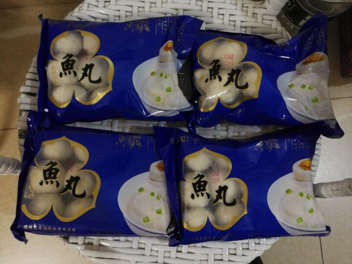 【福州馆】聚春园鱼丸火锅食材手工肉丸子450g/袋 福州正宗鱼丸2袋 晒单图
