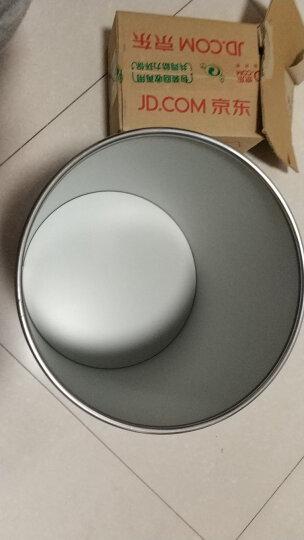 三木(SUNWOOD) 6010 11L不锈钢垃圾桶/纸篓/清洁桶 黑色 带压圈 办公文具 晒单图