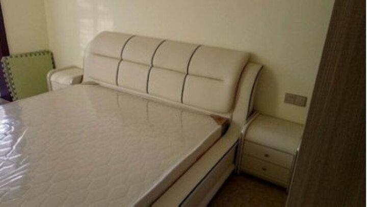 美姿蓝(MZL) 床 皮床 双人床 1.5米床 1.8米床 婚床卧室家具储物床 1.5*1.9米/1.5*2米/1.8*2米标准床 晒单图