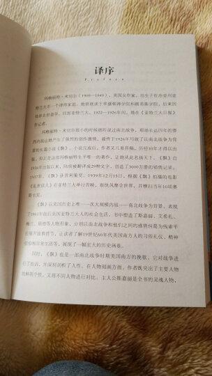 飘 名家名译世界名著青少年版 初中学生必读课外书 原汁原味读 晒单图