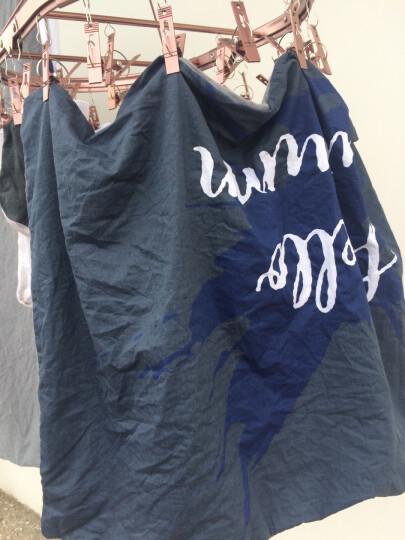 简丽(janlee)床上四件套纯棉 夏季全棉斜纹双人床单被单被罩枕套1.5/1.8米床(被套200*230)简爱 晒单图