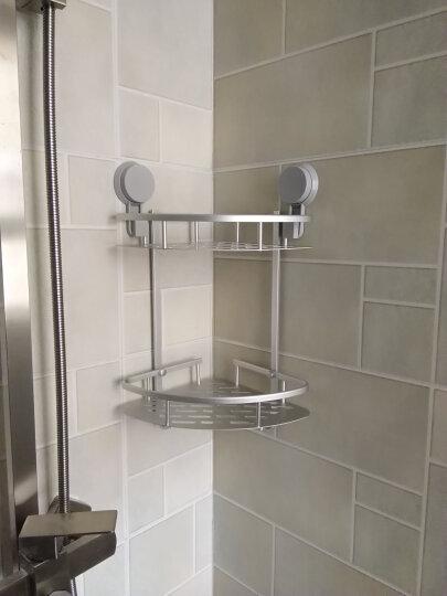 易时代浴室置物架吸壁式免打孔免钉卫生间置物架厕所吸盘架子洗手间壁挂 多功能款 晒单图