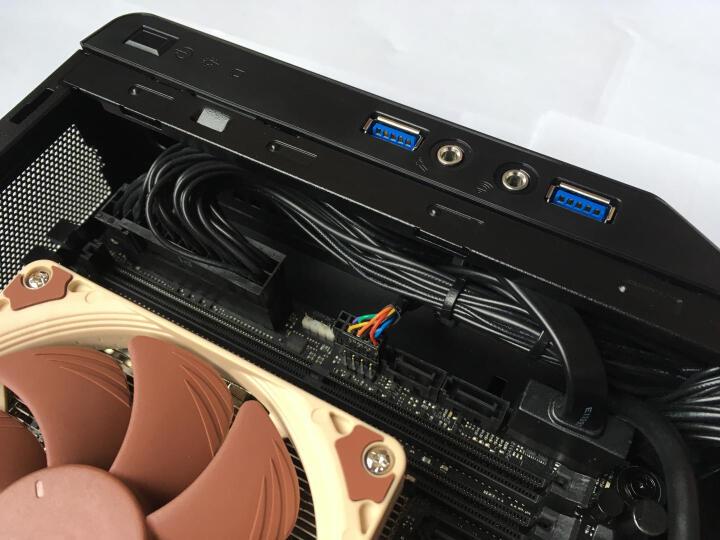 迎广(IN WIN)肖邦 黑色 迷你机箱(支持MINI ITX主板/铝合金外框/自带150W足瓦静音电源/USB3.0 x2) 晒单图
