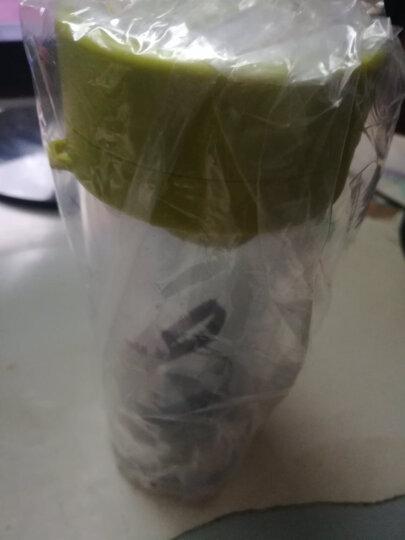 私家良品 双层塑料水杯便携防漏运动随手杯子带茶隔 粉 晒单图
