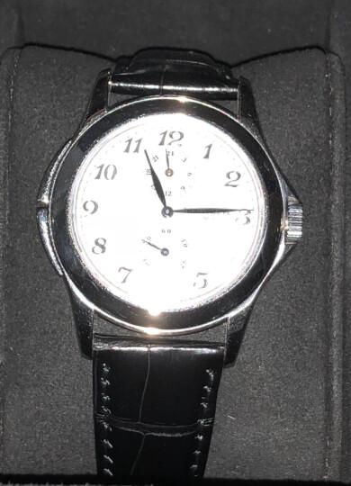 【二手95新】PP百达翡丽5134G 小秒针两地时正装手表 18K白金白面自动机械男表 晒单图