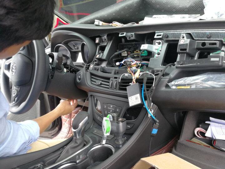 途新智能车机别克新凯越全新英朗威朗君威昂科拉昂科威jeep自由光汽车车机车载倒车影像导航仪一体机 高通4G/WIFI版+后视+1080P记录仪 晒单图