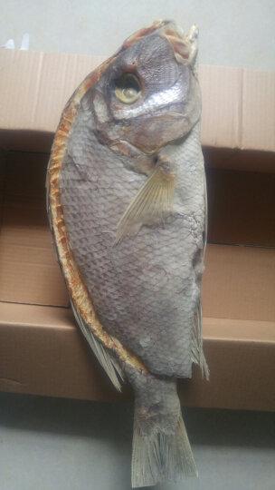 鸿琛 红鱼干 咸鱼干 海鱼干 淡晒鱼干 海鲜海产品干货 海鱼干 海南三亚特产 晒单图