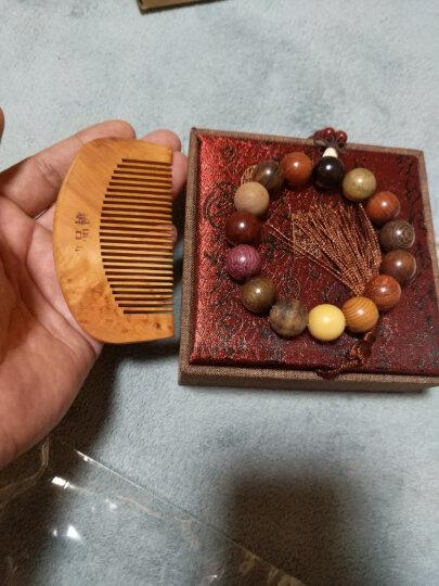名木香府小叶紫檀海南黄花梨多宝珠佛珠手串手链精选多种名木 20MM12颗 晒单图