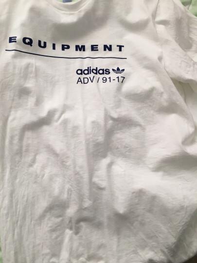 阿迪达斯adidas 官方 三叶草 男子 短袖上衣 白 BS2805 如图 XL 晒单图