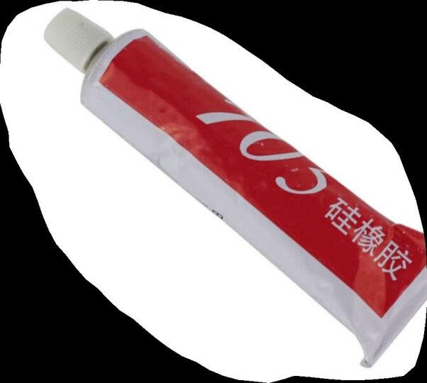 天目705硅橡胶透明色绝缘胶电子元件固定密封胶硅胶流淌型软性强力耐高温电磁炉防水胶50ml 晒单图