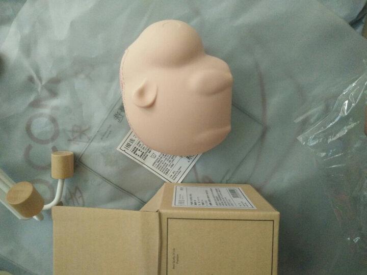 名创优品(MINISO)硅胶零钱包动物园系列新款个性可爱迷你拉链包便携糖果色硬币包 6色 小象米白色 晒单图