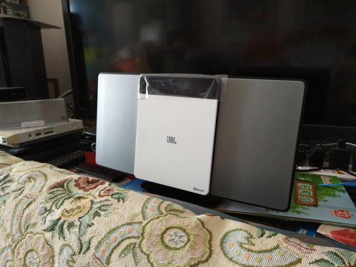 JBL MS202WT 音响 音箱 迷你音响 CD机 蓝牙音响 收音机 台式音响 桌面音响 闹钟 USB 白色 晒单图