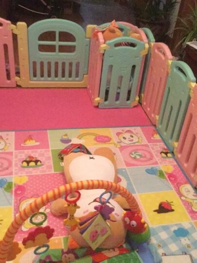 澳乐 婴儿家用室内游戏围栏宝宝爬行学步安全防护栅栏围栏 小游乐场 14+2 AL-W16093004 晒单图