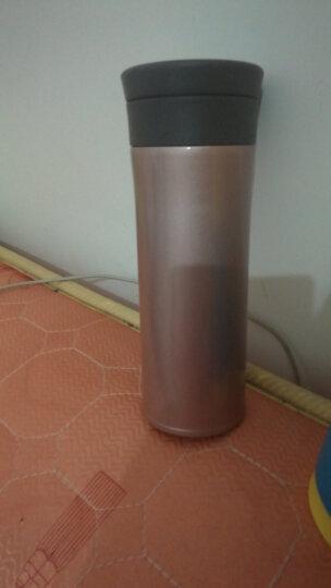 艾蒙多(膳魔师出品)男士商务真空不锈钢茶漏保温杯办公饮茶杯保冷杯直饮泡茶 CAC 粉色 500ML 晒单图