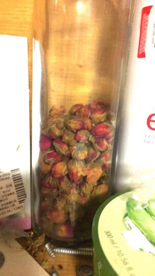 粉玫瑰60g玫瑰花茶干玫瑰花蕾重瓣胎玫瑰罐装茶叶花草茶花茶泡茶 晒单图