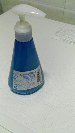 倍瑞傲(PERIOE) 韩国进口牙膏 彩色派缤pumping按压式牙膏285g/瓶 冰蓝薄荷+萌绿清新 共2瓶 晒单图