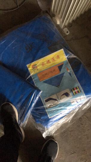 苏沭 盛德品牌冬季加厚加密防雨布篷布户外防雨防晒棚布汽车货车遮阳遮雨篷布苫布帐蓬布可以 5X6 晒单图