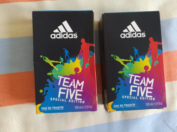 阿迪达斯(adidas) Adidas阿迪达斯男士香水 古龙水 运动香水 男士香水 伦敦世界杯50ml 晒单图