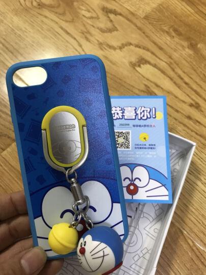 【领券立减五元】哆啦A梦防摔iphone8挂饰支架创意 苹果7/8Plus卡通可爱手机壳 蓝色  4.7【当/次日达】 晒单图