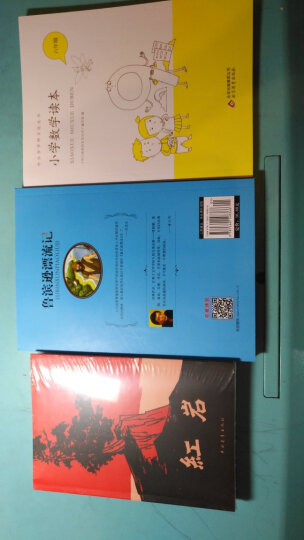 现货 红岩+鲁滨逊漂流记(大悦读)+中小学学科文化丛书:数学读本六年级(3册) 晒单图