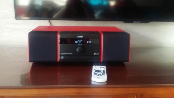 雅马哈(Yamaha)MCR-B020 音响 音箱 CD机 USB播放机 迷你音响 组合音响 蓝牙音响 定时闹钟 电脑音响 红色 晒单图