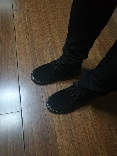 西关村 休闲鞋女韩版学生女鞋真皮小皮鞋平底女式单鞋 白色 36 晒单图