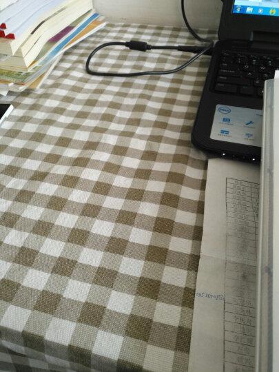 法奈登棉帆布老粗布沙发布料桌布抱枕窗帘床单面料 2.4米宽幅加厚订做 红色 米白萝卜一米价 晒单图