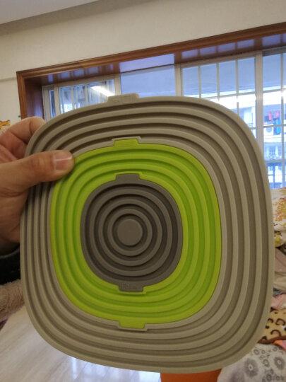 GRAND /高蓝 硅胶隔热垫套装锅垫餐桌垫碗垫盘子杯垫防滑防烫垫厨房配件3合1套装易清 一套3件 晒单图