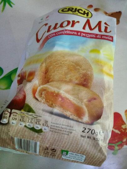 进口饼干 意大利原装进口可意奇(Crich)  苹果夹心曲奇饼干270g 营养健康 晒单图