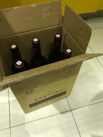 国产红酒 中粮长城三星赤霞珠干红葡萄酒 普通三星750ml单支 晒单图