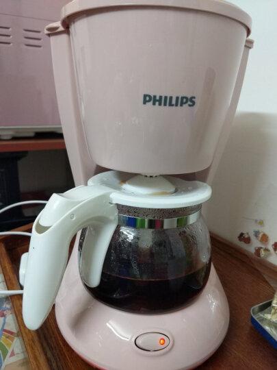 飞利浦(PHILIPS)咖啡机 家用型全自动智能科技美式滴漏式咖啡壶 HD7457/20金属色 晒单图