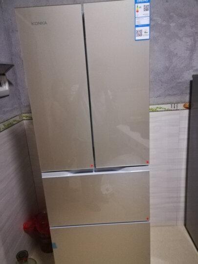 康佳(KONKA)271升 多门匀冷冰箱 多变空间(金色玻璃)BCD-271BX4SU 晒单图