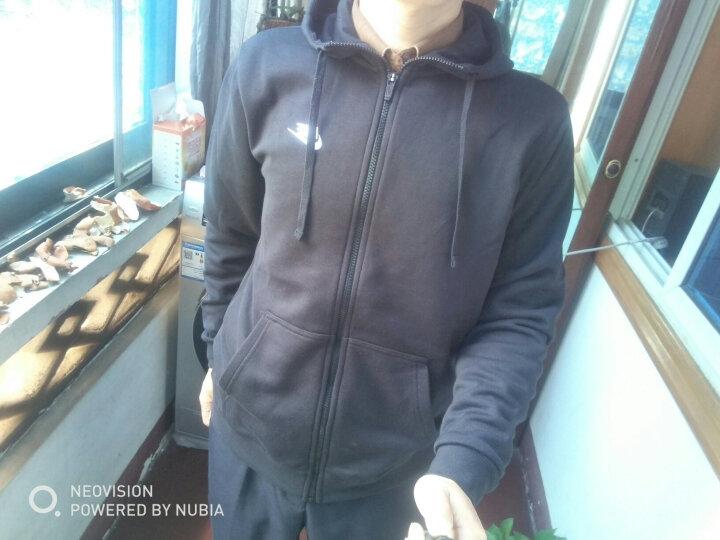 耐克 NIKE 男子 休闲 夹克 帽衫 AS M NSW HOODIE FZ FT CLUB 运动服 804392-010黑色M码 晒单图