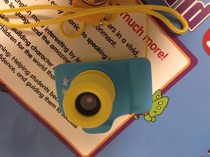 摄徒M8儿童数码照相机 微型运动摄像机 复古单反拍照录像摄像头袖珍 迷你便携DV 玩具生日礼物 蓝色 套餐二 晒单图