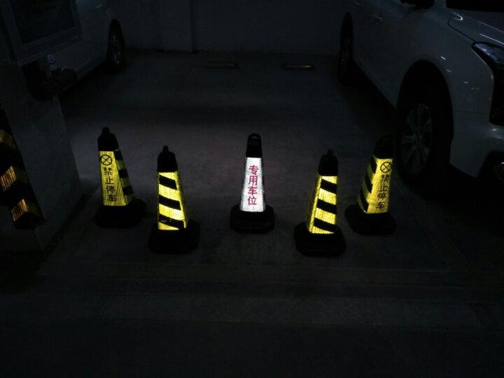 DISON 橡胶路锥 方锥 反光路锥 路障锥 雪糕筒桶 交通锥桶 交通设施 警示牌 链条1米-颜色随路锥颜色单买50米起发货 晒单图