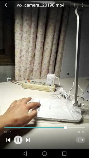 欧普照明 (OPPLE)led台灯护眼灯爱眼灯学生学习小台灯儿童书桌宿舍阅读灯-XG Z基础款-配插头电源线-滑动调光-蓝色款 6瓦 晒单图