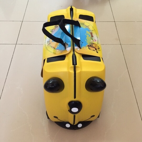 英国Trunki 儿童可坐储物行李箱 宝宝旅行箱 小孩拉箱多色可选 风信子浅紫色英国产 晒单图