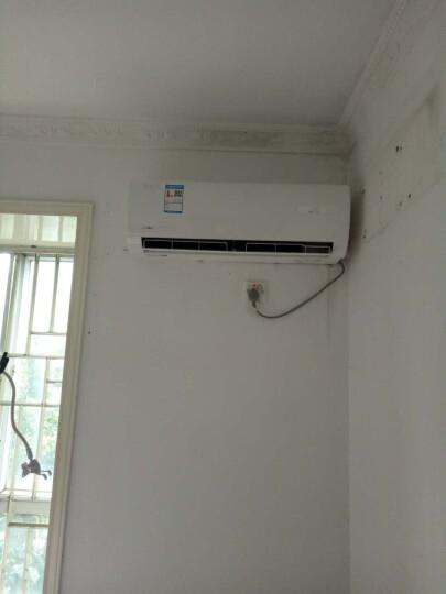 美的(Midea) 空调挂机 壁挂式 定频冷暖 家用舒适 卧室 省电星 1.5匹KFR-32GW/DY-DH400(D3 晒单图