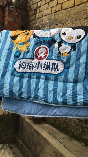 宫品幼儿园纯棉夏被全棉儿童空调被午睡夏凉被卡通宝宝暖气薄被子可机洗水洗 哈喽小象 120×150cm 晒单图