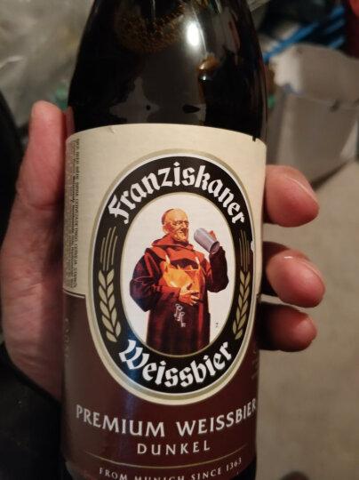 教士(Franziskaner) 德国原装原瓶进口 啤酒500ml*12瓶装 教士黑啤*12瓶 晒单图