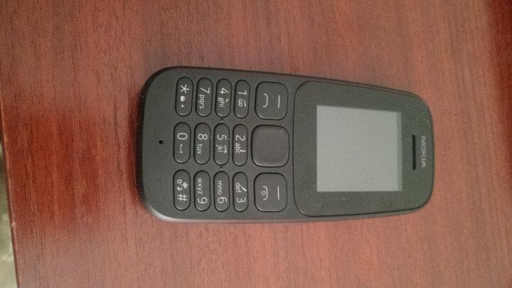 【二手95新】诺基亚105 黑色 移动联通2G手机 晒单图