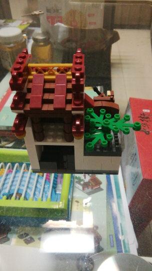 星堡积木创意百变MOC街景城市中华街兼容乐高小颗粒立体拼插拼装我的世界人仔儿童益智玩具模型 星堡城市街景家居装潢6合1 XB01401 晒单图