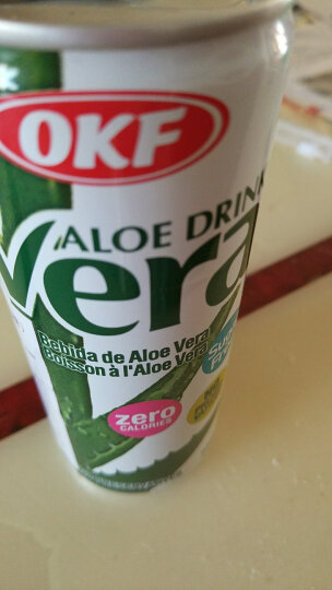韩国进口 OKF 牧羊人库拉索芦荟果汁饮料 无糖饮料 原味 240ml*6听组合装 晒单图