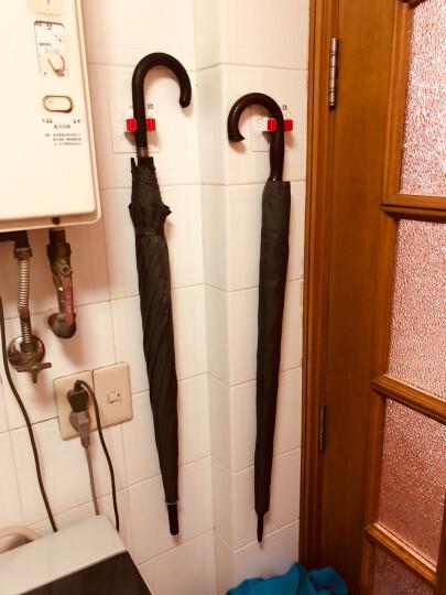 家而适无痕扫把拖把架免钉雨伞收纳夹架2425多用途放置夹 金属版 晒单图