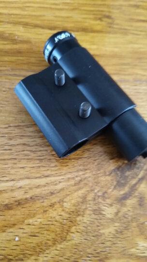 红绿色激光手电笔 红外线 瞄准器 瞄准镜卡扣8字夹轨道夹 鼠尾寻鸟镜 小号红瞄准器配纽扣电 211  圆管版 晒单图
