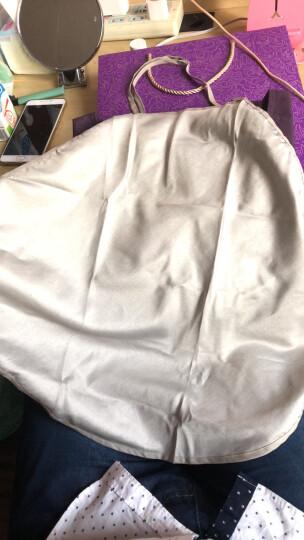 婧麒 防辐射服孕妇装银纤维肚兜内穿防辐射衣服大码套装四季款 藏青色 L 晒单图