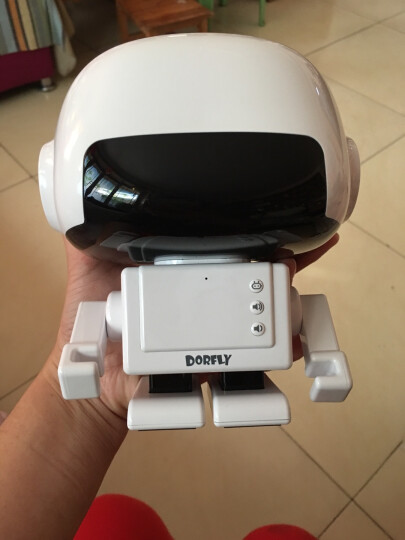 多多云脑智能英语语音机器人 儿童玩具智能机器人英语学习机早教故事机益智机 白色 晒单图