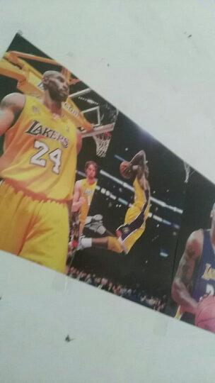 nba篮球大海报 库里科比詹姆斯欧文威少哈登韦德麦迪扑克贴纸壁画 足球混搭24寸款式1 晒单图